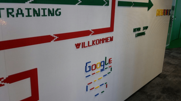 Google Legowand