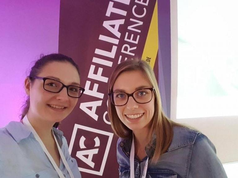 Affiliate Conference Kerstin und Saskia