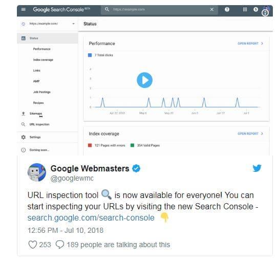 Das neue URL Inspection Tool von Google ist jetzt live