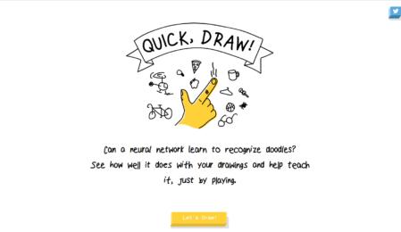 Machine Learning mit Spaß: Google Quick, Draw!