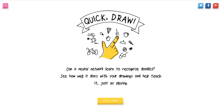 Machine Learning mit Spaß: Google Quick, Draw!