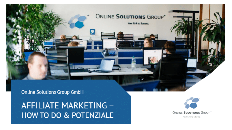 Affiliate Marketing Agentur München