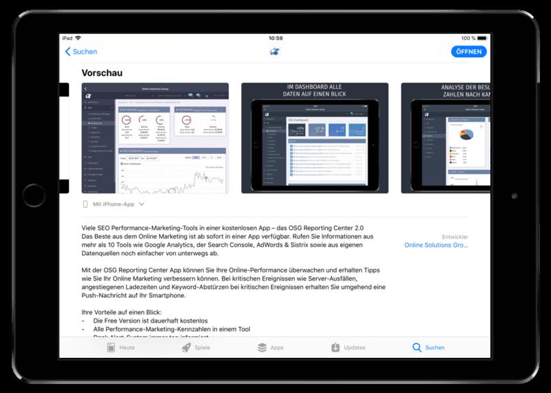 Screenshots und Videos geben einen guten Einblick in Features und Funktionen einer App