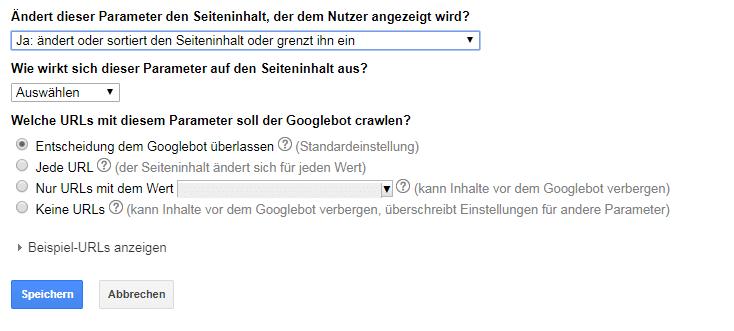 Auswahl-Crwaling-Befehl-an-Googlebot