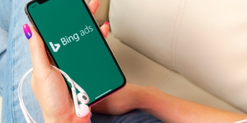 Bing Ads auf dem Smartphone
