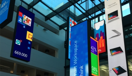 Microsoft Foyer in München - Bing Ads Bootcamp 2017