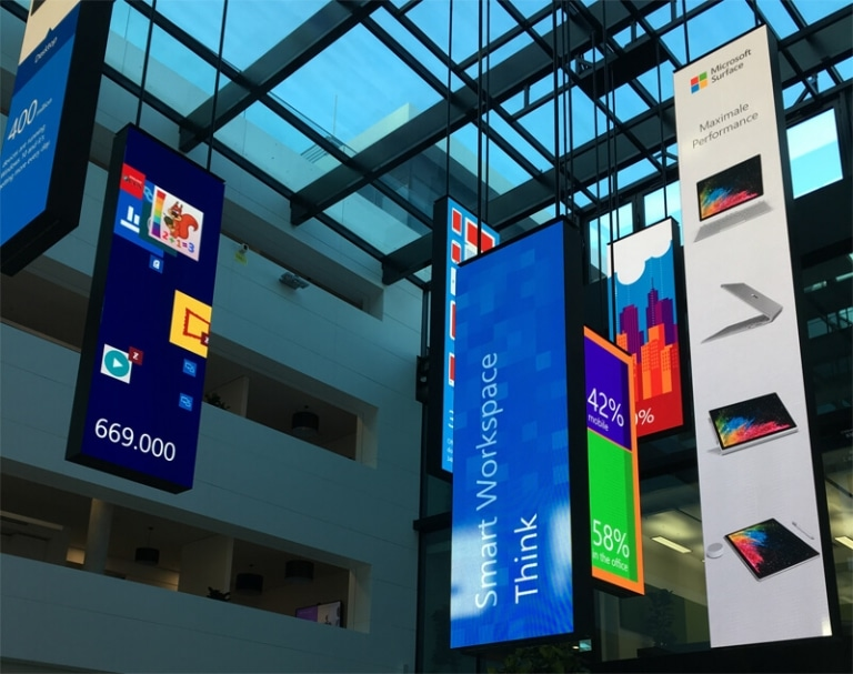 Microsoft Foyer in München - Bing Ads Bootcamp 2017