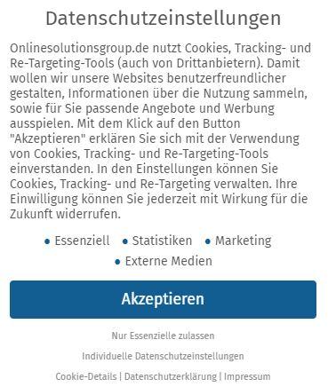 Cookie Banner OSG