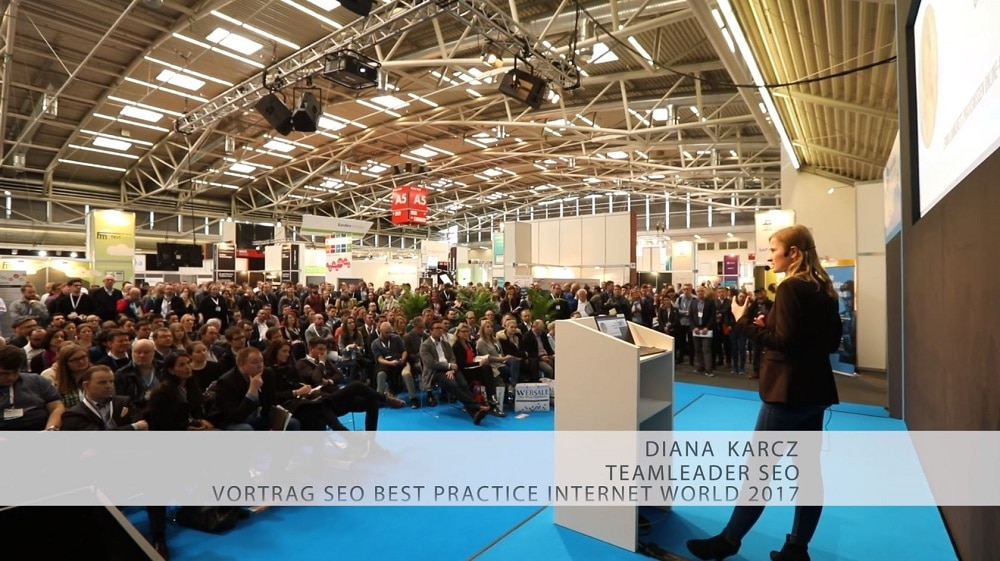 Diana Karcz beim SEO Workshop