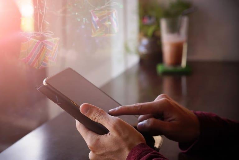 Dynamische Werbebanner Smartphone