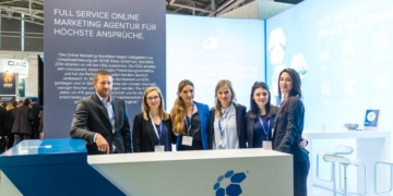Eindrücke Internet World Messe