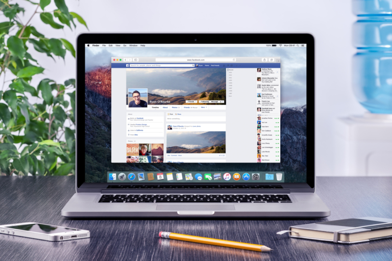 Facebook Desktop Redesign
