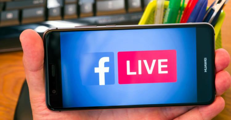 Facebook Live Video Smartphone