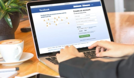 Facebook auf dem Desktop
