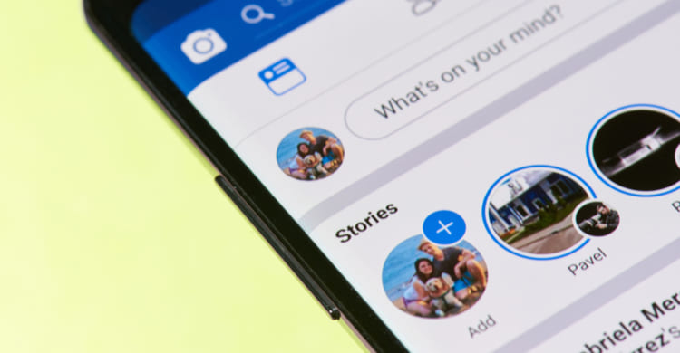 Facebook Story  Smartphone