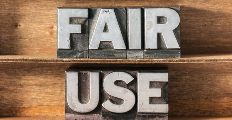 Fair Use Prinzip