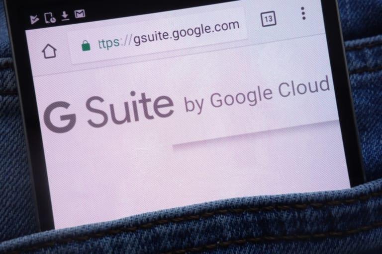 Google hebt die Preise für G-Suite an