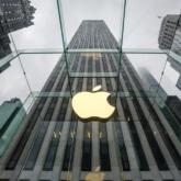 Gebäude mit Apple Logo