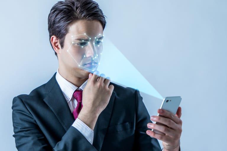 Gesichtserkennung durch KI