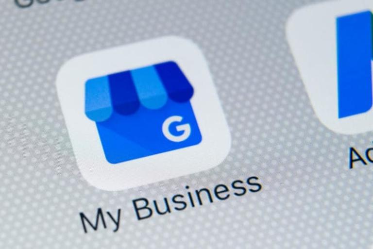 Google My Business - Test eines neuen Layouts