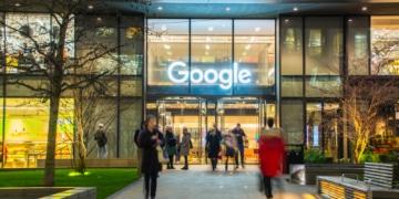Google Eingang London