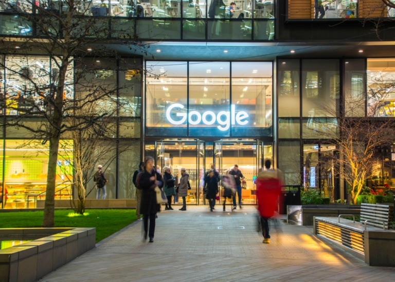 Google Eingang London