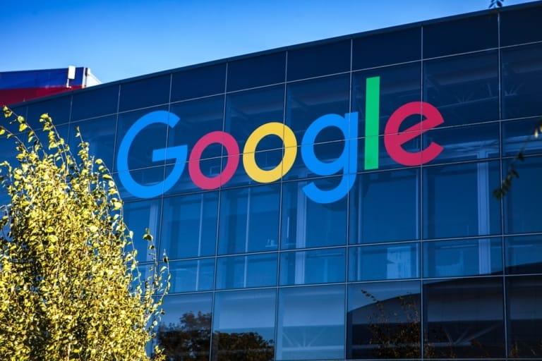 Google Glasfassade