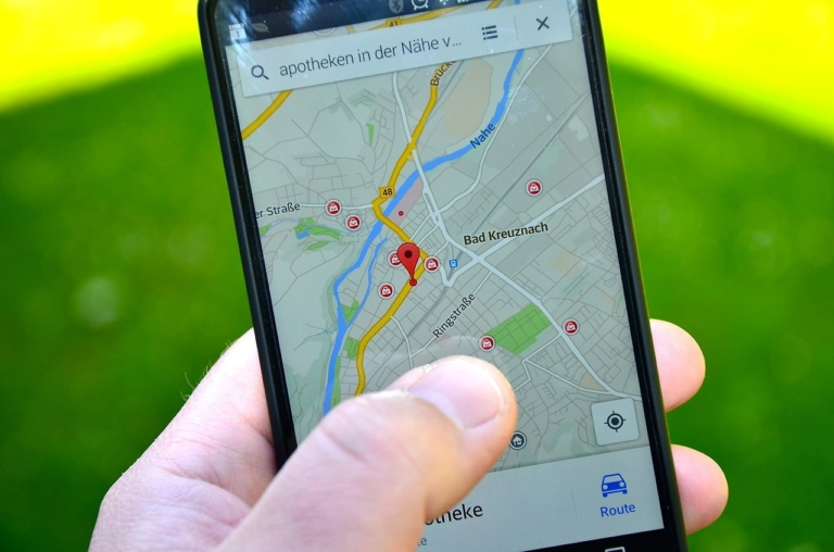 Google Maps Navigation durch Agumented Reality