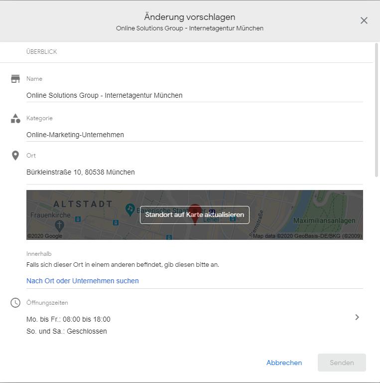 Google My Business Veränderungen, die jeder tätigen kann