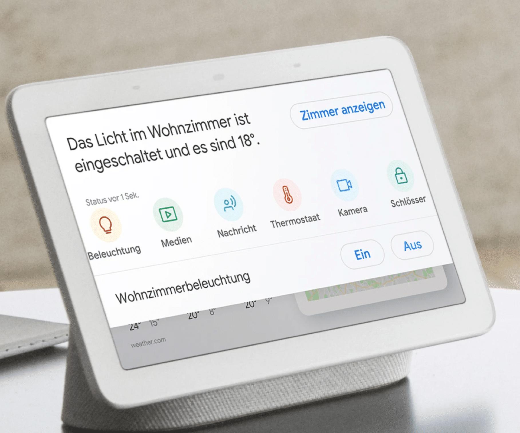 Das neue Google Gerät Google Nest Hub