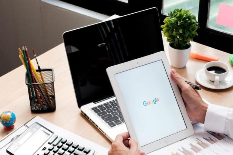 Ipad mit Google Suche
