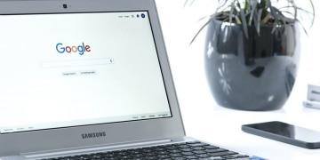Google-Startseite-Laptop