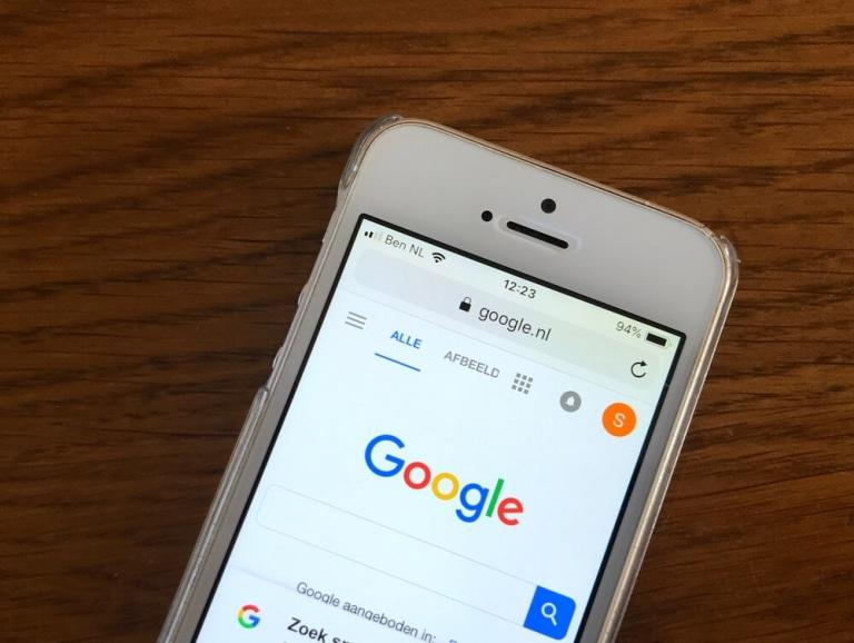 Google-Startseite-Smartphone