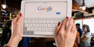 Google Startseite Tablet
