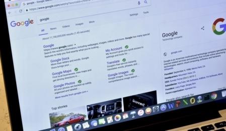Google Suchergebnisse