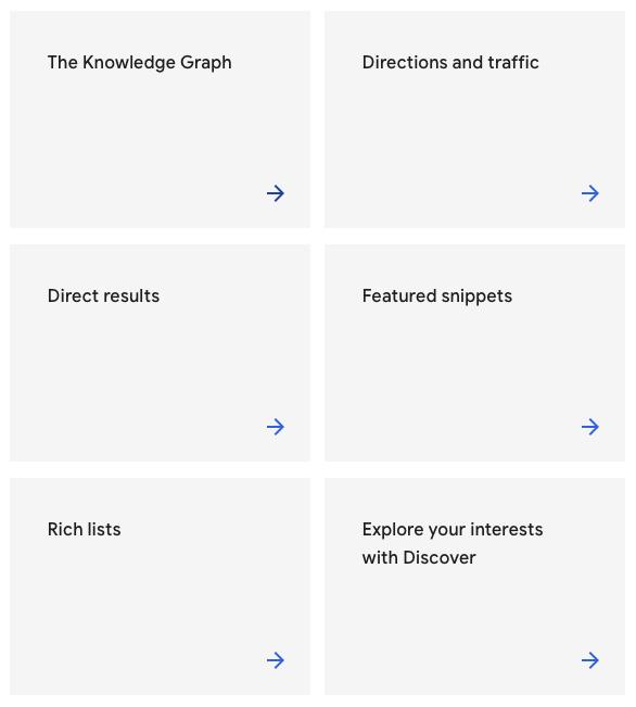 """Google: Neugestaltung der Website """"Wie funktioniert die Google-Suche"""""""