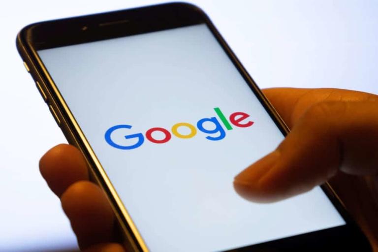Handy mit Google Suche