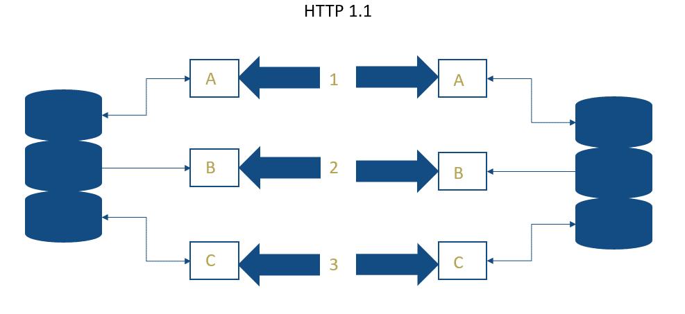 HTTP 1.1 Datenübertragung