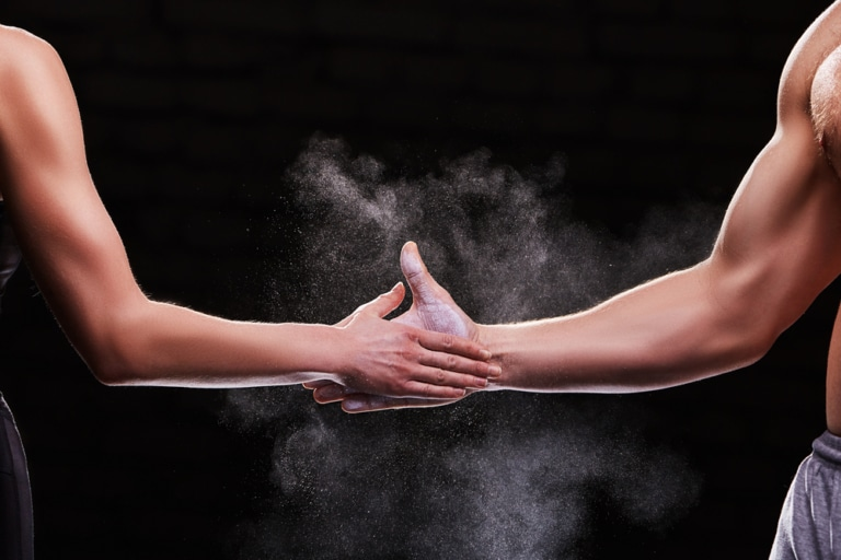 Hand in Hand Sport Wettkampf