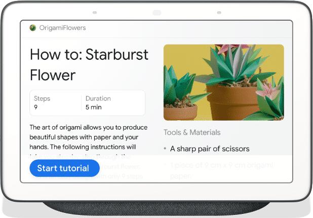Strukturierte Daten für ein How-to im Google Assistant
