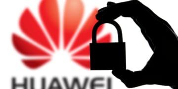 Huawei Logo mit Schloss