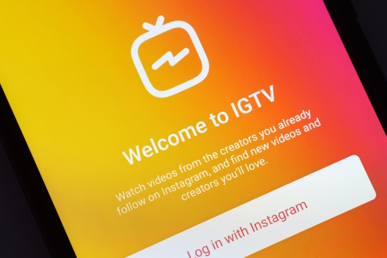 IGTV kurz vor dem Ende