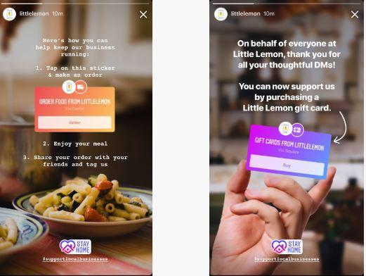 Neue Stickers für KMU auf Instagram