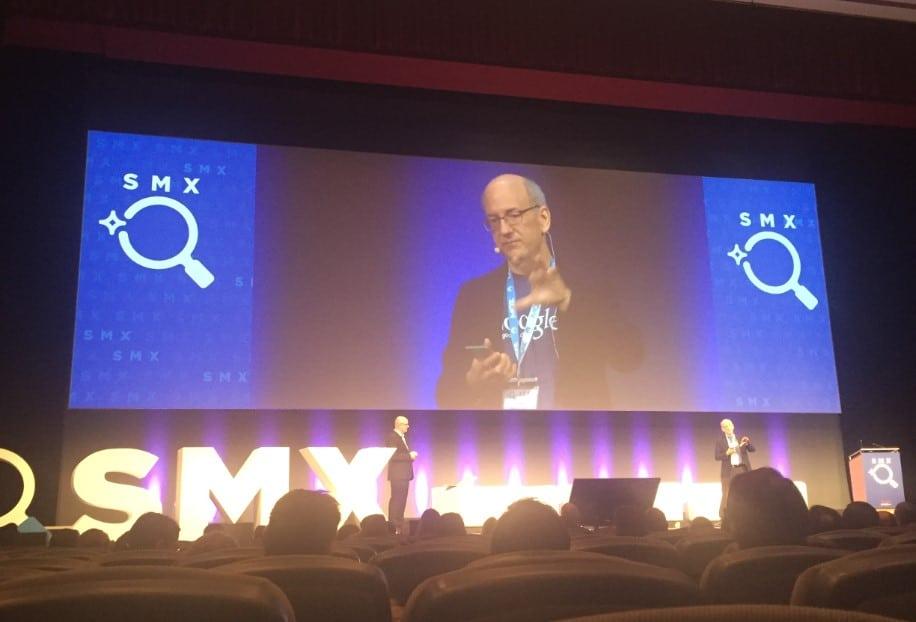 John Müller auf der SMX 2017