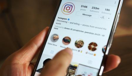 Instagram Story Entwurf verkündet