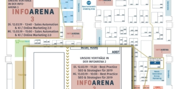 Hallenplan Internet World Messe