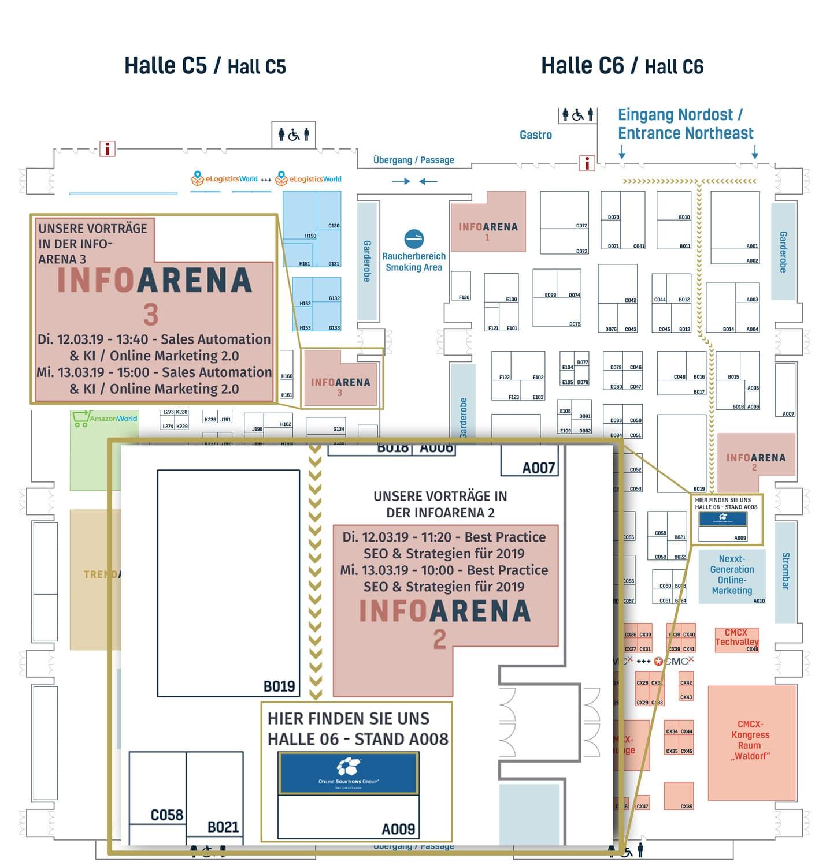 Sie finden uns auf der Internet World Expo 2019 in der Halle C6 am Stand A008 direkt an der Infoarena 2. Unsere Vorträge finden in der Infoarena 2 sowie Infoarena 3 statt.
