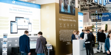 OSG Messestand auf der InternetWorld 2019