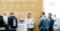 Messestand OSG Internet World