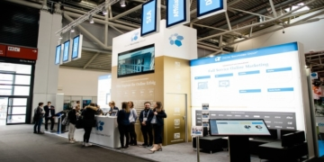InternetWorld 2019 Messestand